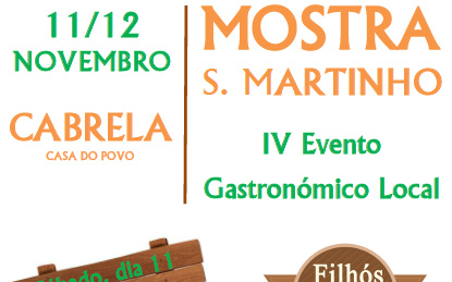 Mostra S. Martinho – IV Evento Gastronómico Local