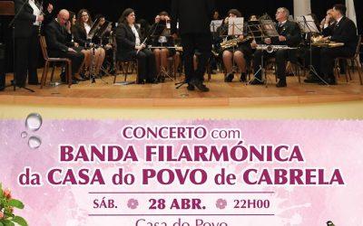 Concerto com Banda Filarmónica da Casa do Povo de Cabrela