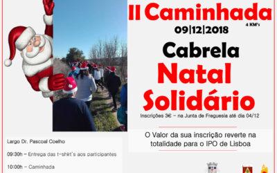 II Caminhada Natal Solidário