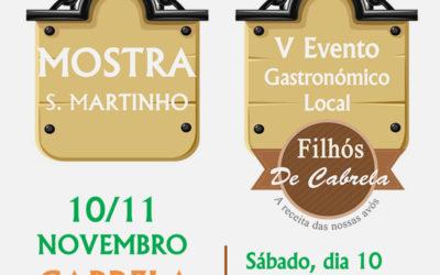 Mostra de S. Martinho – V Evento Gastronómico Local
